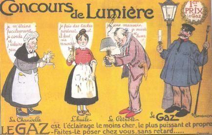 AFFICHE PUBLICITAIRE CONCOURS DE LUMIERE