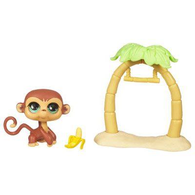 Petshop singe et son arbre - Petshop singe ...